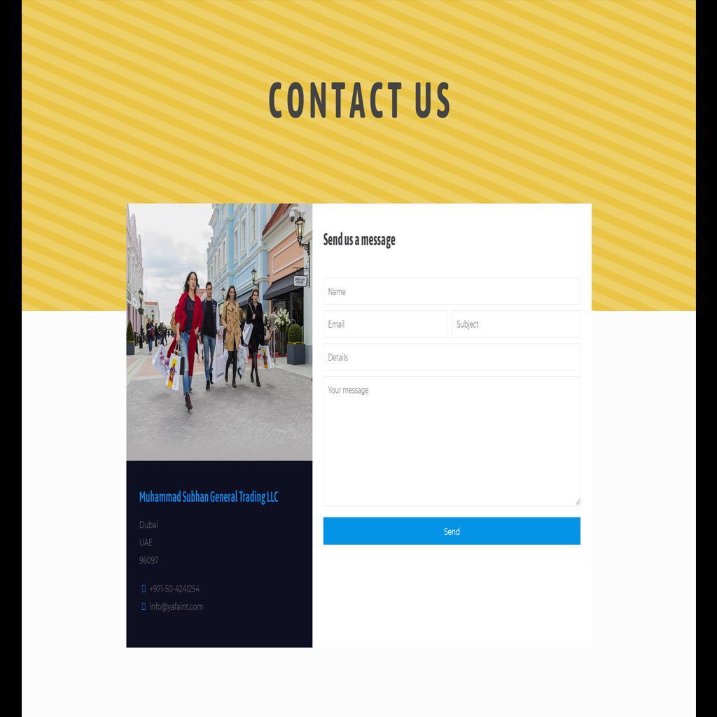 Yafaint-Website